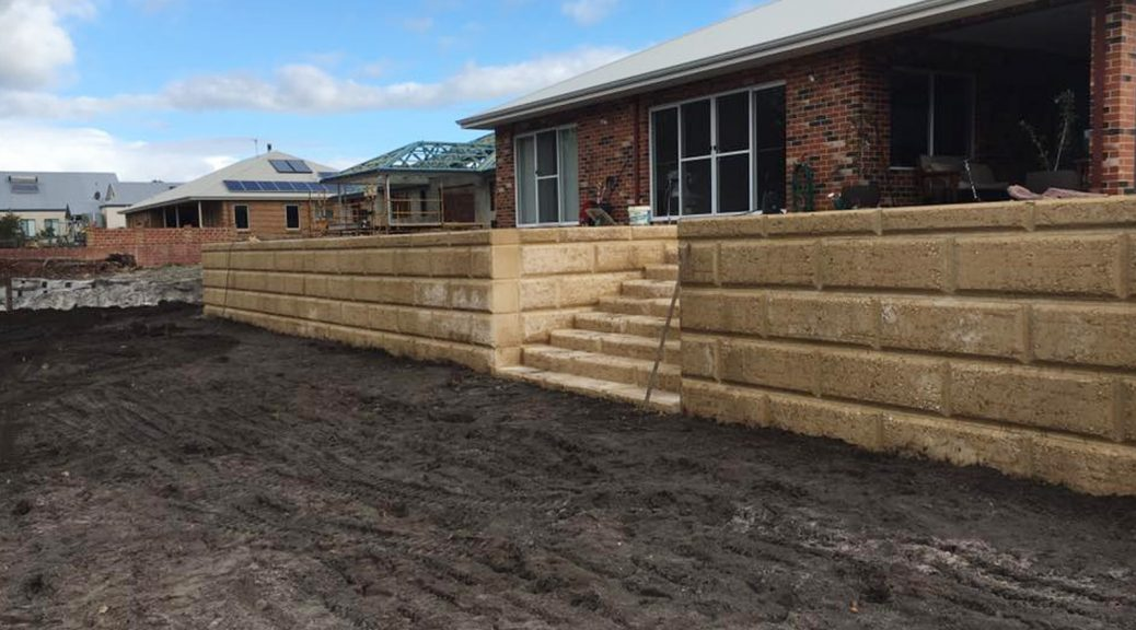 Wall Retaining in Bunbury