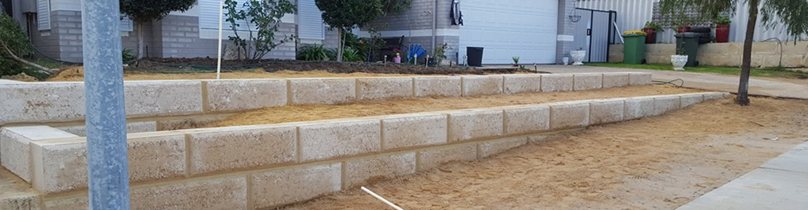Feature Walls Retaining in Bunbury and Busselton